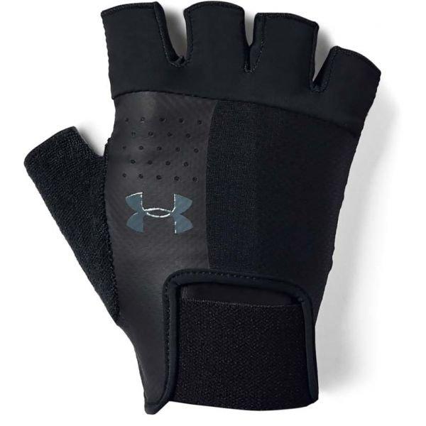 Černé fitness rukavice Under Armour - velikost XL
