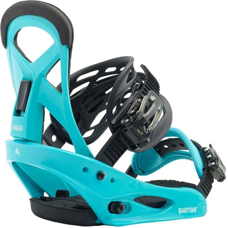 Modré vázání na snowboard Burton - velikost L
