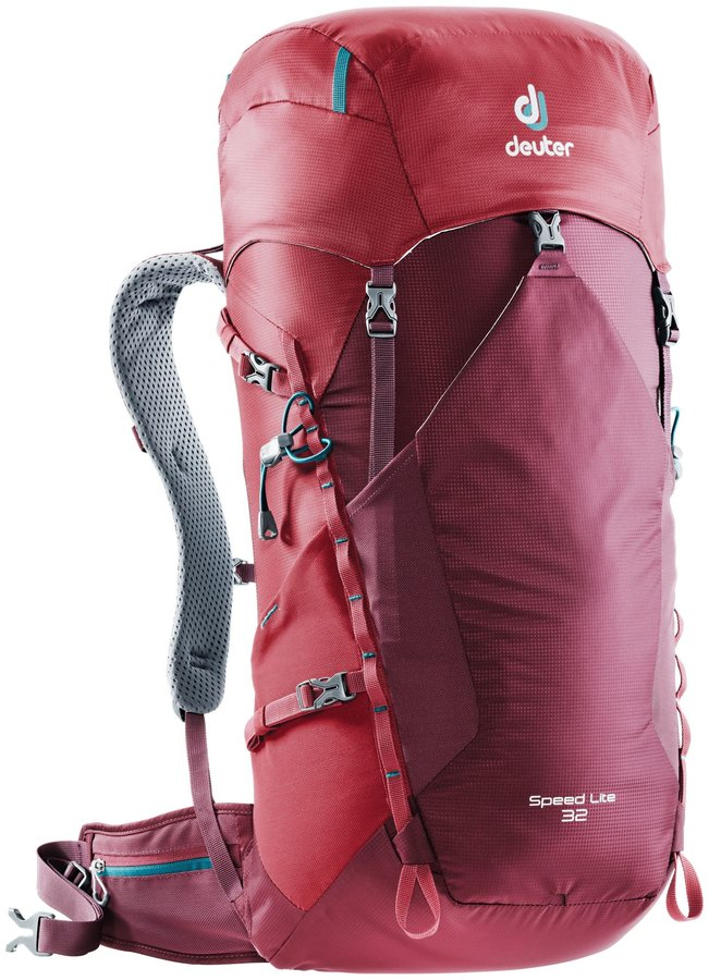 Batoh - Deuter Speed Lite 32 Maron-cranberry