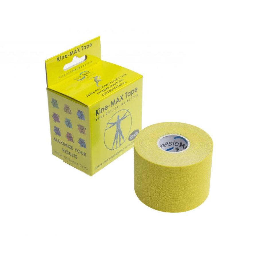 Žlutá tejpovací páska kine-max - délka 5 m a šířka 5 cm
