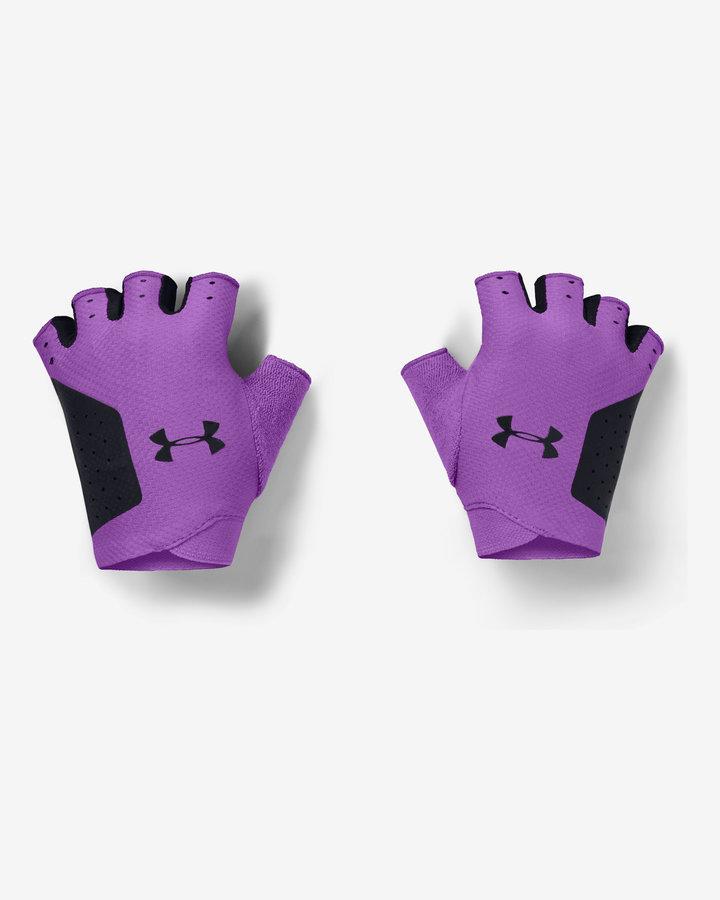 Fialové dámské zimní rukavice Under Armour