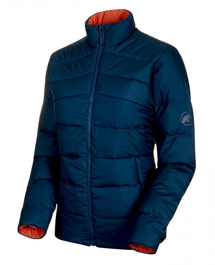 Modrá zimní dámská bunda Mammut