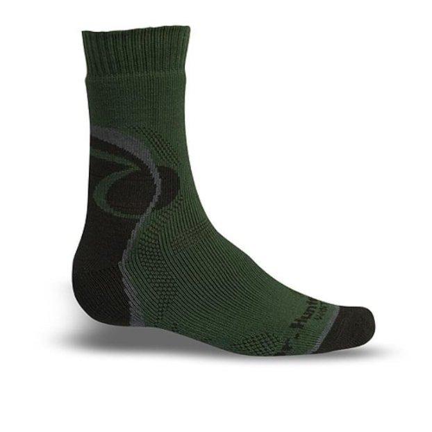 Zelené trekové ponožky Dr. Hunter