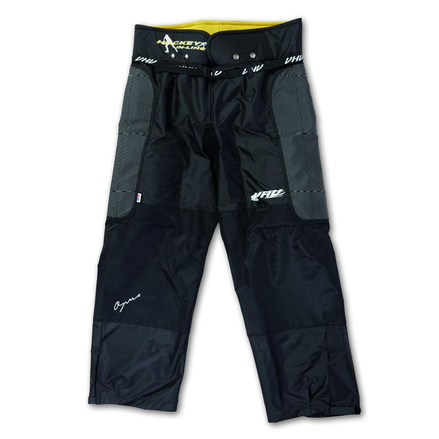 Černé kalhoty na in-line hokej - junior Opus