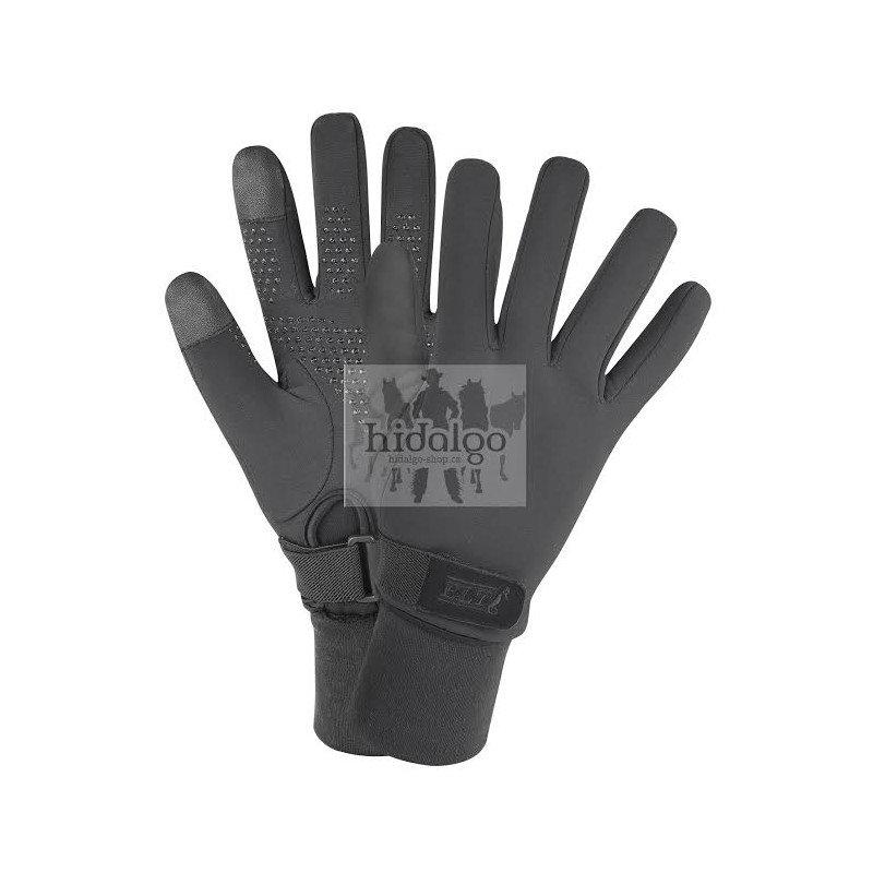 Černé jezdecké rukavice Snow, ELT