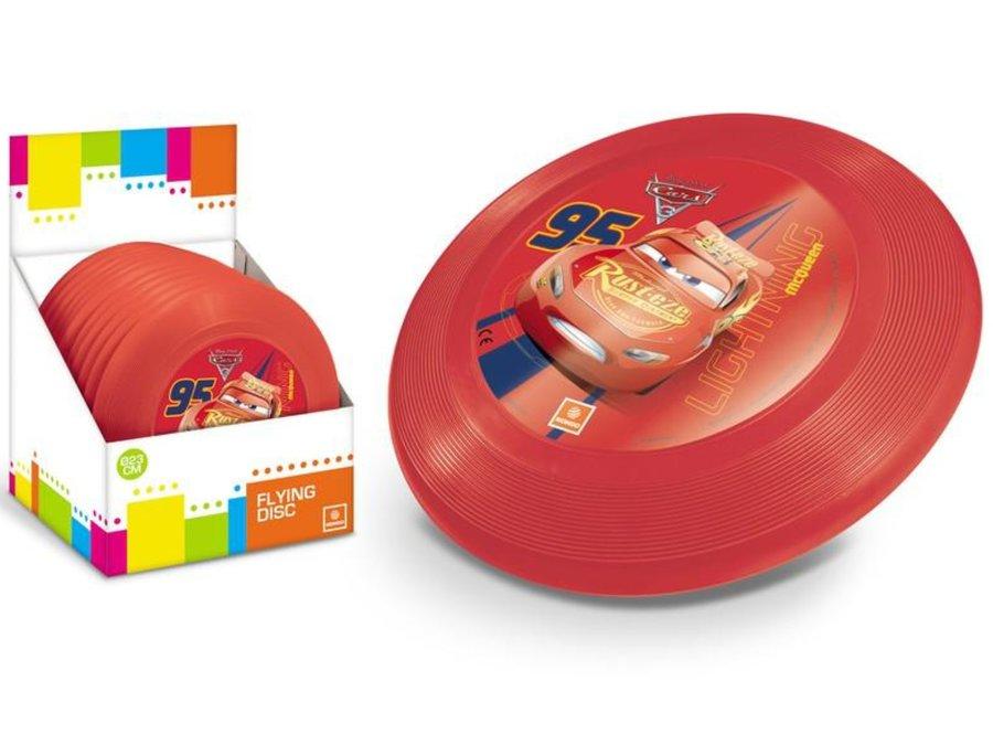 "Červené plastové frisbee ""Auta"", Mondo - průměr 23 cm"