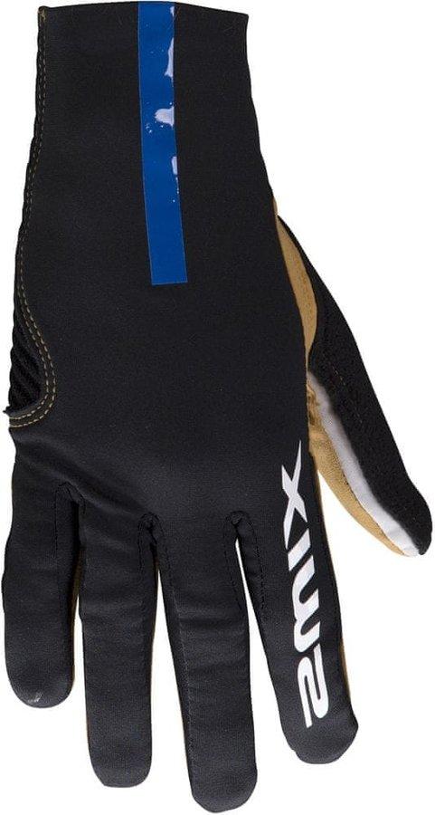Černé pánské rukavice na běžky Swix - velikost 7