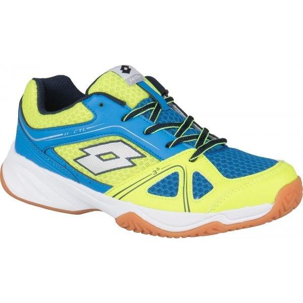 Modro-žluté dětské boty na volejbal Lotto - velikost 33 EU