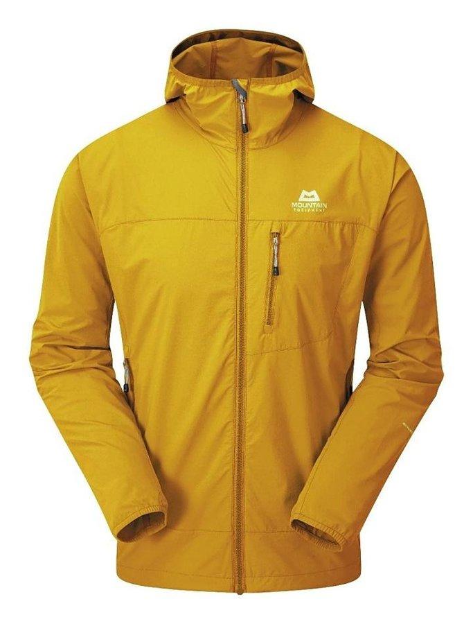 Žlutá softshellová pánská turistická bunda Mountain Equipment