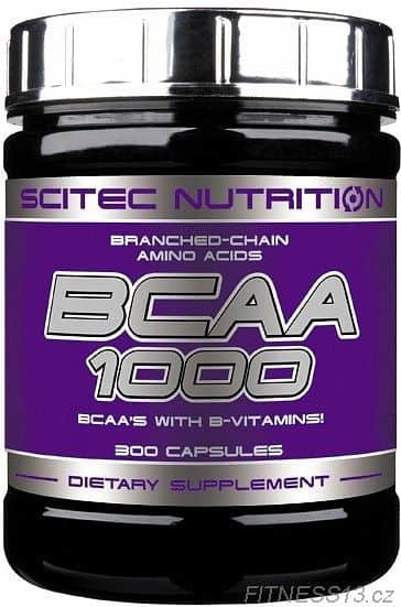 BCAA - Scitec Nutrition BCAA 1000 100 tablet 300cps
