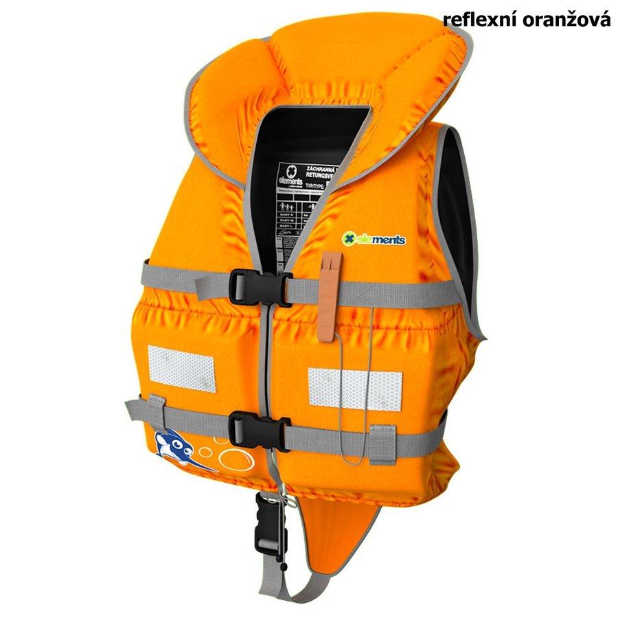 Oranžová dětská chlapecká nebo dívčí záchranná vesta Baby, ELEMENTS GEAR
