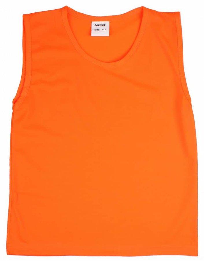 Modrý rozlišovací dres Merco - velikost 128