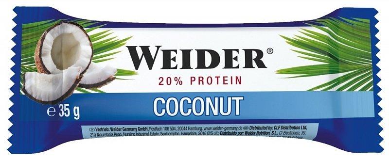 Energetická tyčinka - Tyčinka: Fitness Bar - Weider 35 g Hazelnut
