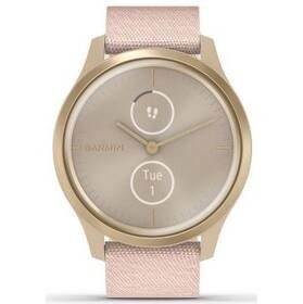 Růžový sporttester VivoMove 3 Style, Garmin