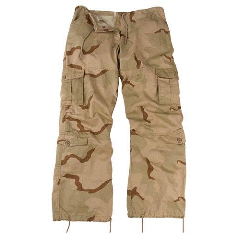 Kalhoty - Kalhoty dámské VINTAGE 3-COL DESERT