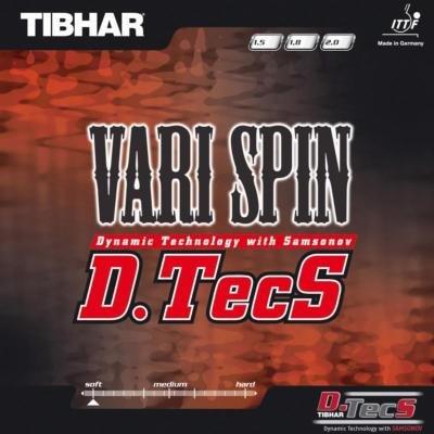 Potah na pálku VariSpin D.TecS, Tibhar