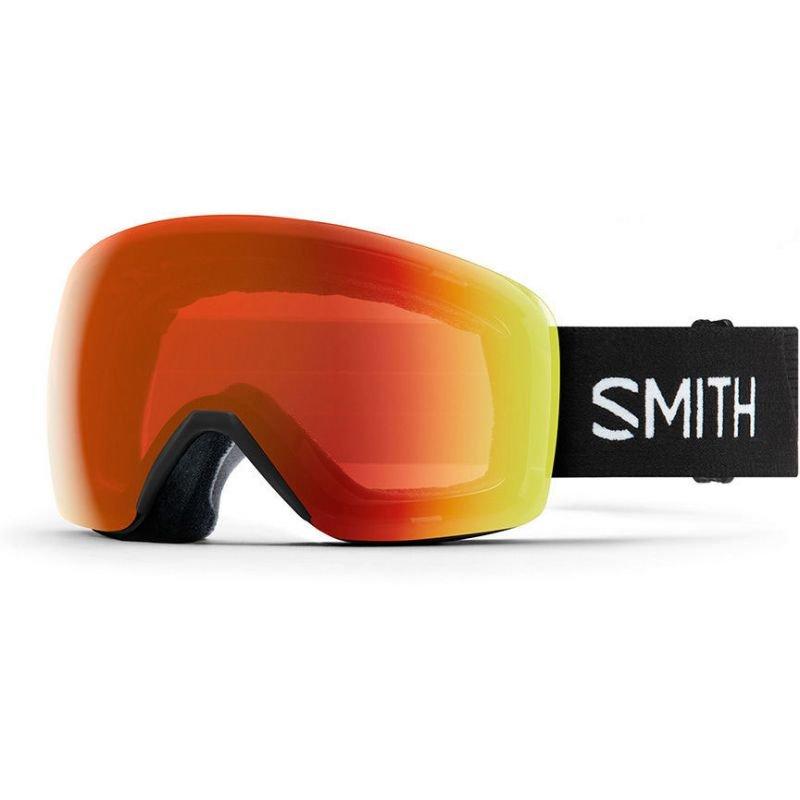 Černé brýle na snowboard Smith