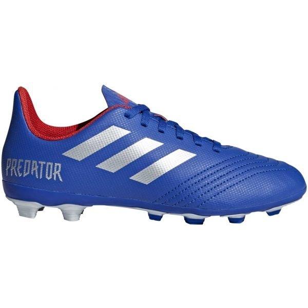 Modré dětské kopačky Adidas