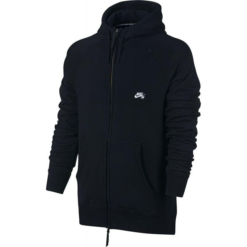 Černá pánská mikina s kapucí Nike - velikost M