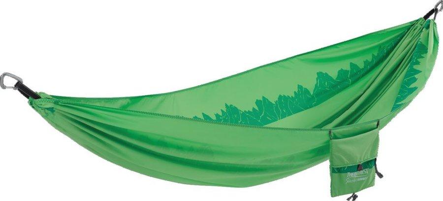 Zelená houpací síť Hammock, Therm A Rest