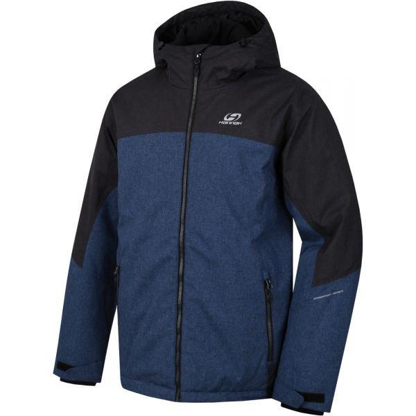 Černo-modrá pánská lyžařská bunda Hannah