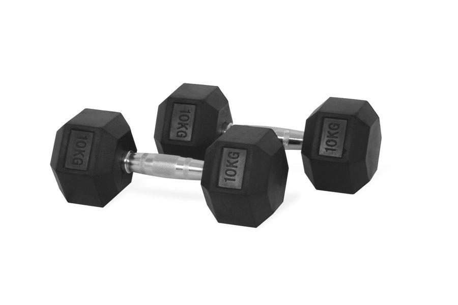 Jednoruční činka Trinfit - 10 kg
