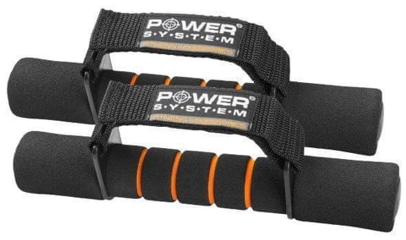 Jednoruční činka - POWER SYSTEM jednoručky Fitness Dumbells 2x1kg