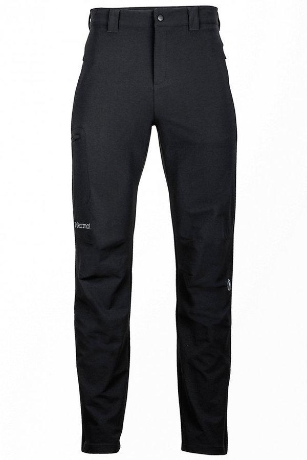 Černé pánské lyžařské kalhoty Marmot - velikost L