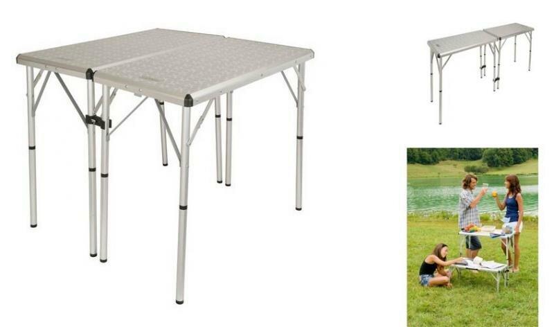 Kempingový stůl Coleman - délka 80 cm, šířka 40 cm a výška 80 cm