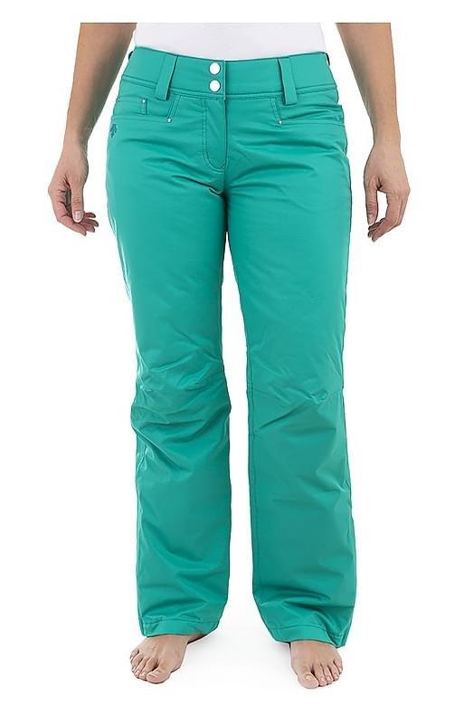 Zelené dámské lyžařské kalhoty Descente - velikost 36
