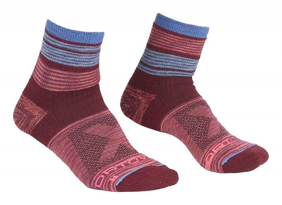 Červené dámské trekové ponožky Ortovox