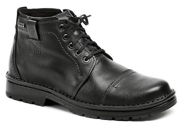 Černé pánské zimní boty Bukat - velikost 41 EU