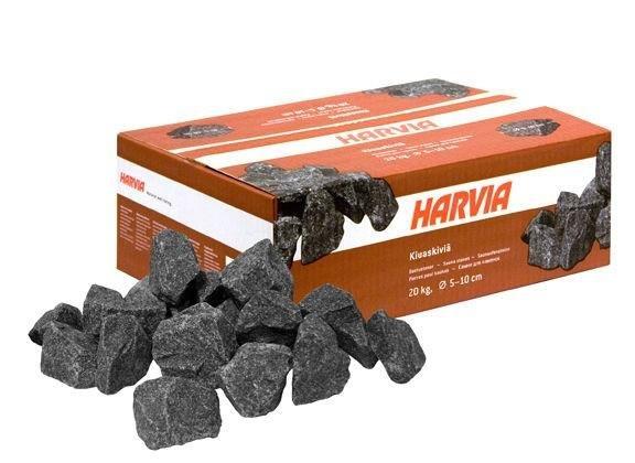 Červené saunové kameny Harvia - 20 kg
