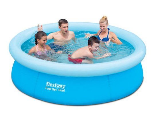 Nadzemní nafukovací bazén Bestway - průměr 198 cm a výška 51 cm