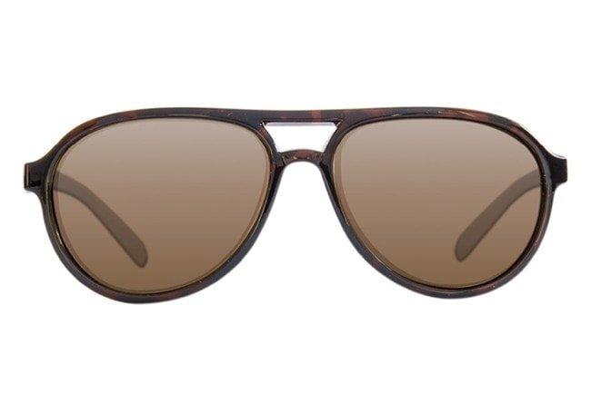 Sluneční brýle - Korda Sluneční brýle Aviators Sunglasses Tortoise Shell/Brown