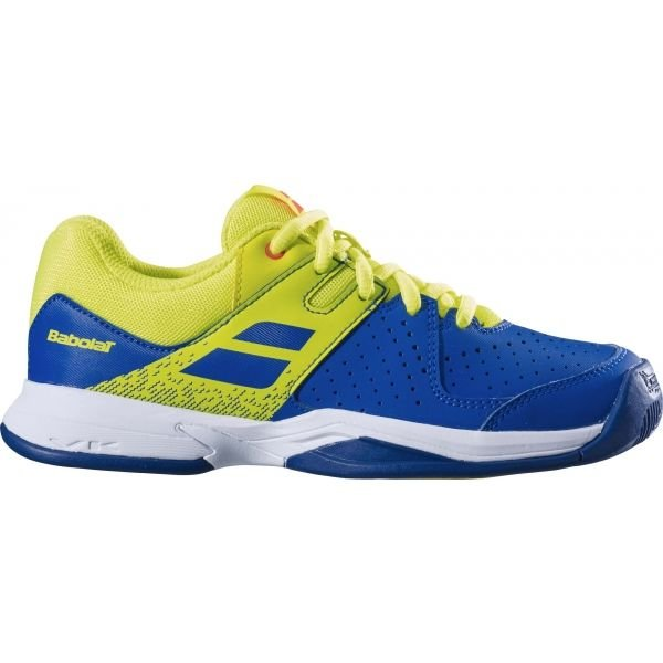Modro-žlutá dětská tenisová obuv Babolat - velikost 38,5 EU
