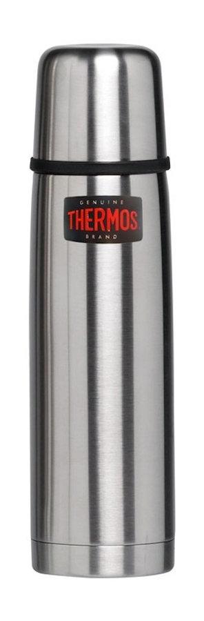 Stříbrná termoska na pití Thermos - objem 1 l