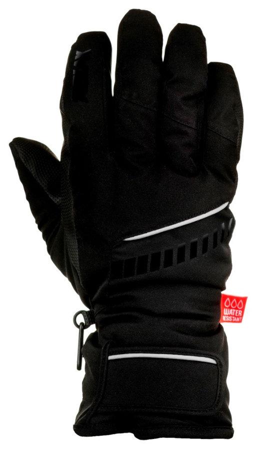Černé dívčí lyžařské rukavice Relax