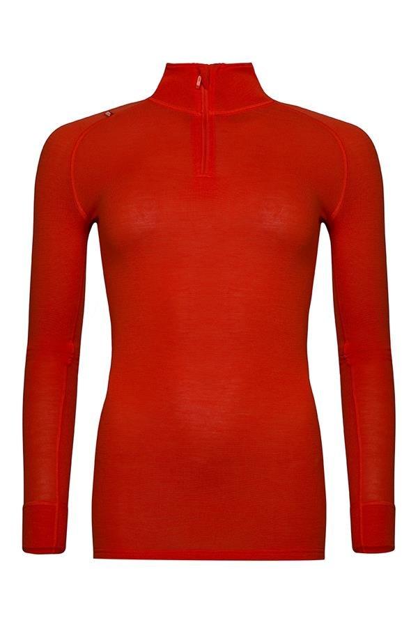 Červené dámské funkční tričko Alpine Pro