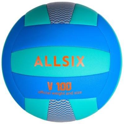Volejbalový míč - Allsix Míč V100 Modro-Zelený
