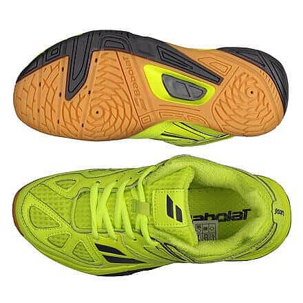 Žlutá dětská sálová obuv Babolat - velikost 32 EU