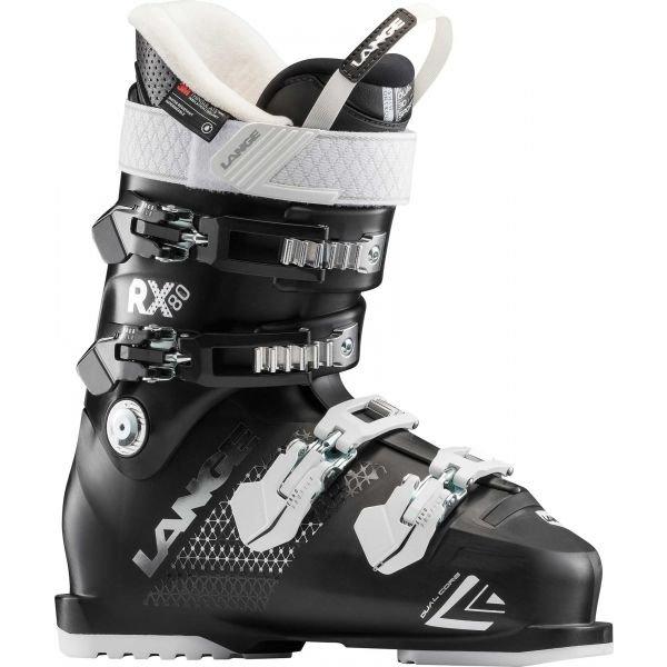 Černé dámské lyžařské boty Lange - velikost vnitřní stélky 23,5 cm