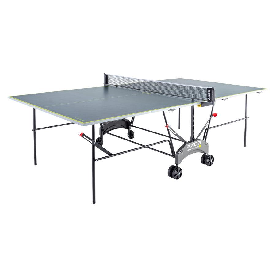 Šedo-žlutý vnitřní stůl na stolní tenis INDOOR 1, Kettler