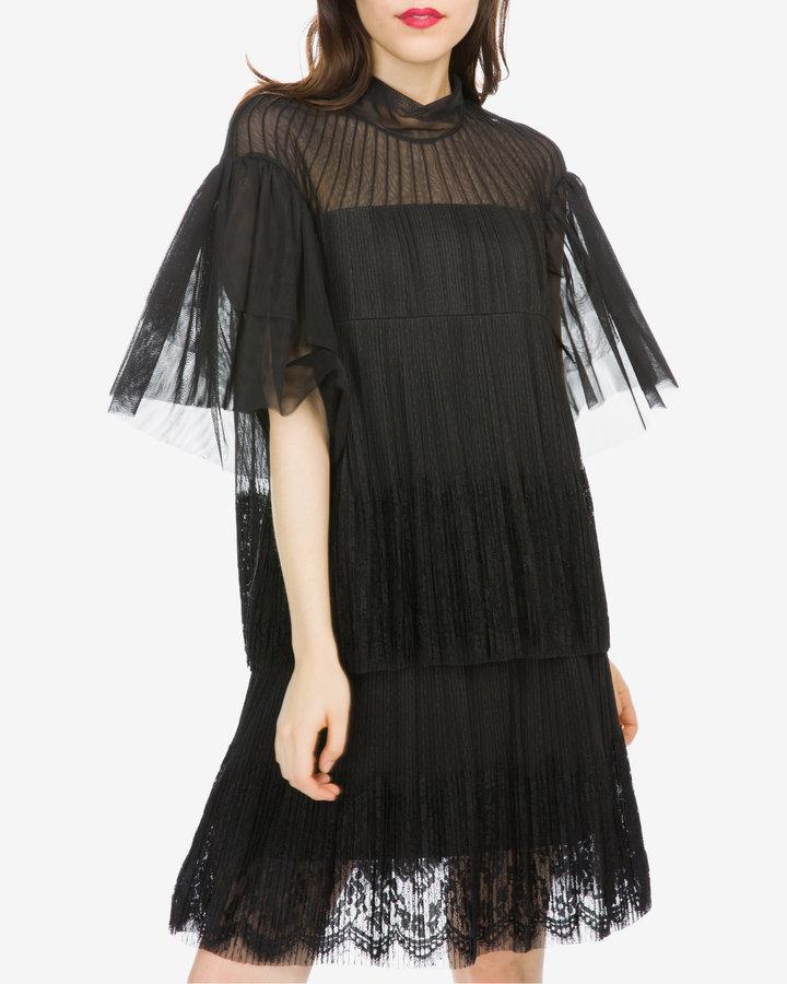 Černé dámské šaty Silvian Heach - velikost XXS