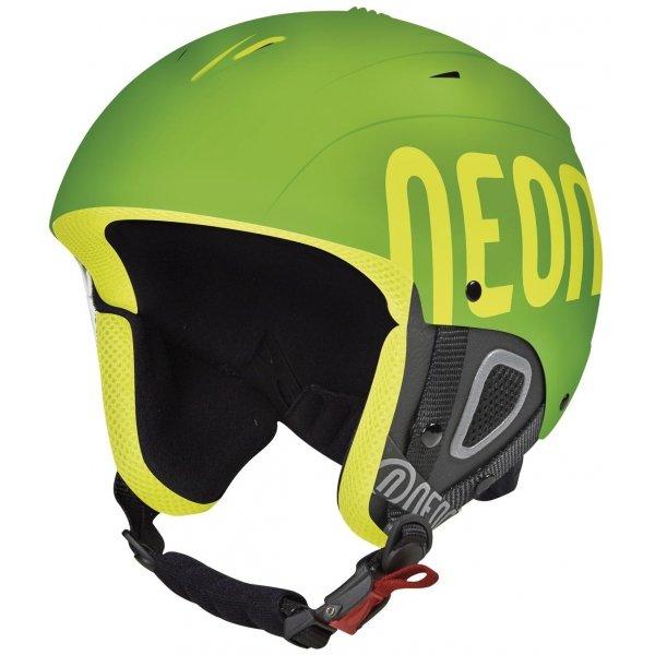 Zelená lyžařská helma Neon