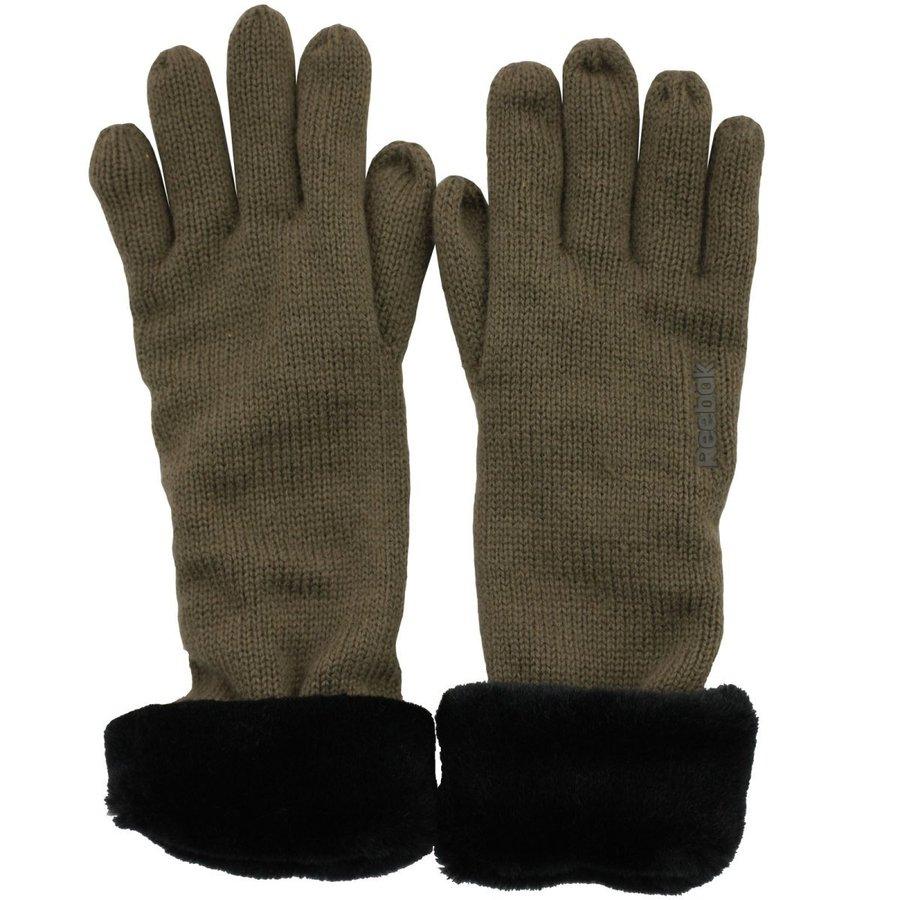 Černé dámské zimní rukavice Reebok - velikost M