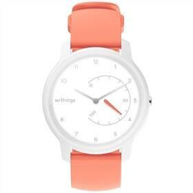 Růžové chytré hodinky Move, Withings