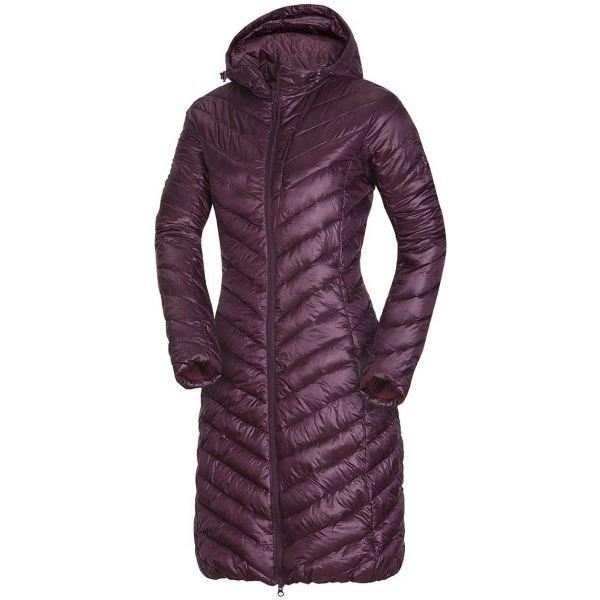 Fialový dámský kabát NorthFinder - velikost S