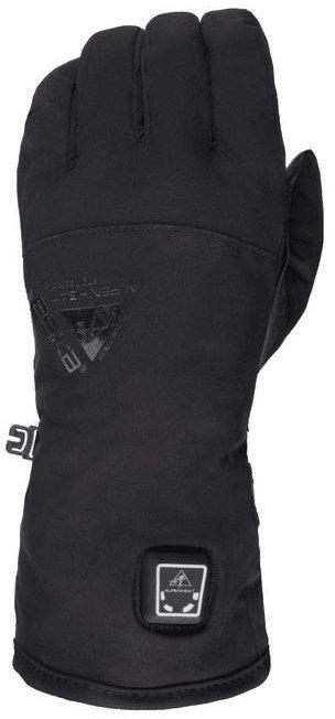 Černé snowboardové rukavice s vyhříváním Alpenheat