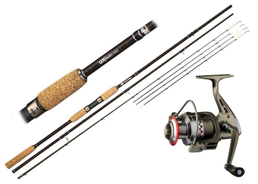 Feederový prut - Giants Fishing Prut LXR Feeder 10ft 50-100g + naviják zdarma!